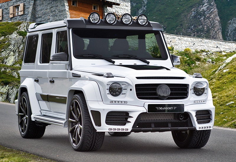 Mercedes G63 2018 >> 2016 Mercedes-AMG G63 Mansory Gronos - specifications, photo, price, information, rating