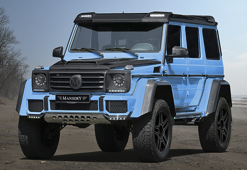 2016 Mercedes Benz G500 4x4 Mansory Specifications Photo