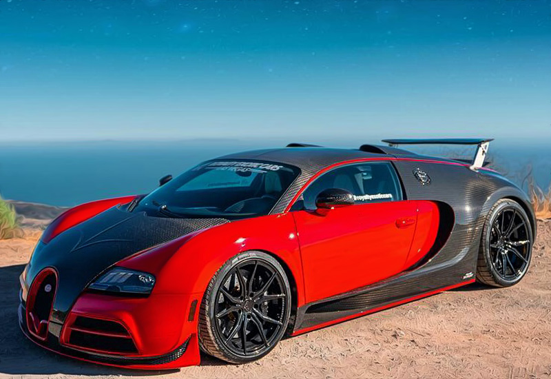 2018 Bugatti Veyron Mansory Vivere RWD Conversion by Royalty Exotic Cars