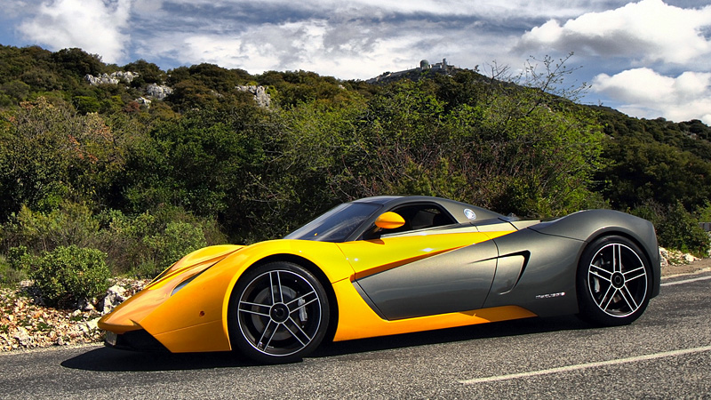 2010 Marussia B1 (2.8 litre 420 Hp) - specifications ...