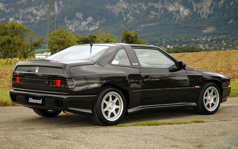 1989 Maserati Shamal - specifications, photo, price, information