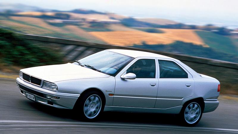 1998 Maserati Quattroporte Evoluzione V8 Specifications