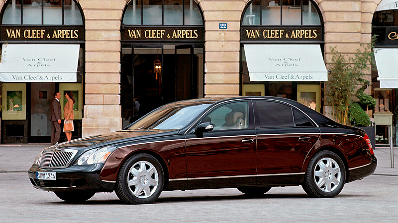 2002 Maybach 57 Specifications Photo Price