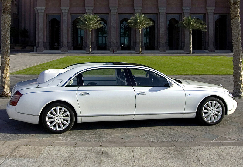 2008 Maybach 62s Landaulet Specifications Photo Price