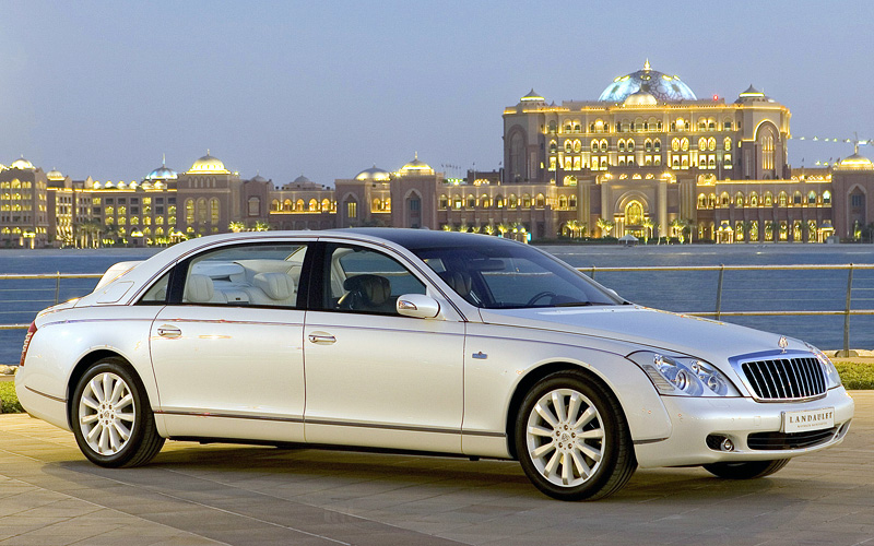2008 maybach 62s landaulet - specifications, photo, price