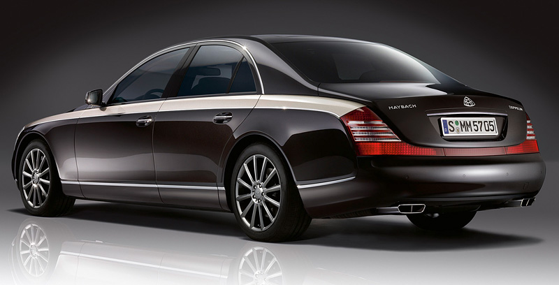 2009 Maybach 62 Zeppelin