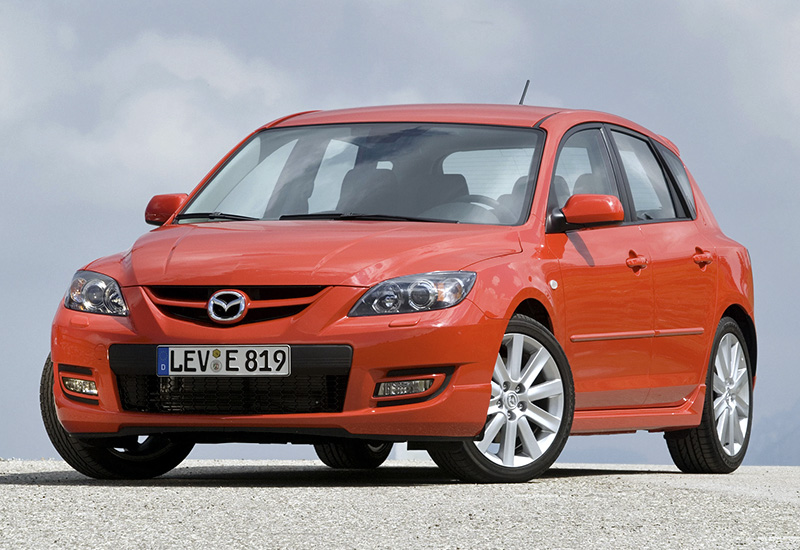 2006 mazda 3 mps specifications photo price. Black Bedroom Furniture Sets. Home Design Ideas