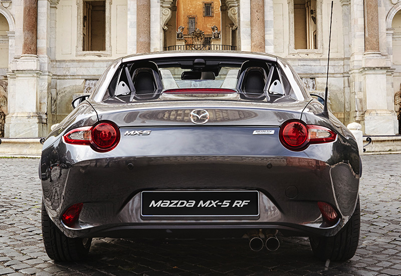 2017 Mazda MX-5 RF (ND) - specifications, photo, price ...