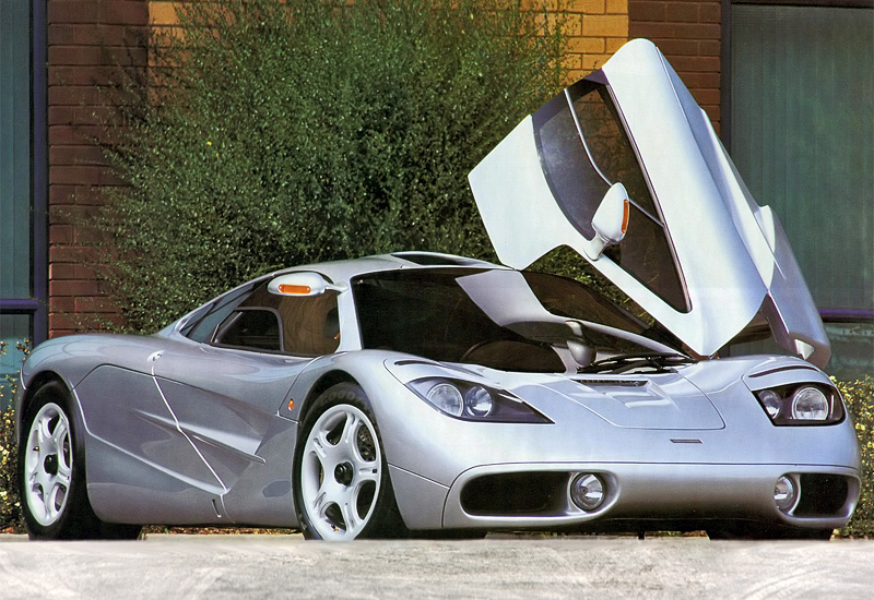 1992 Mclaren F1 Clinic Model Specifications Photo Price Information Rating