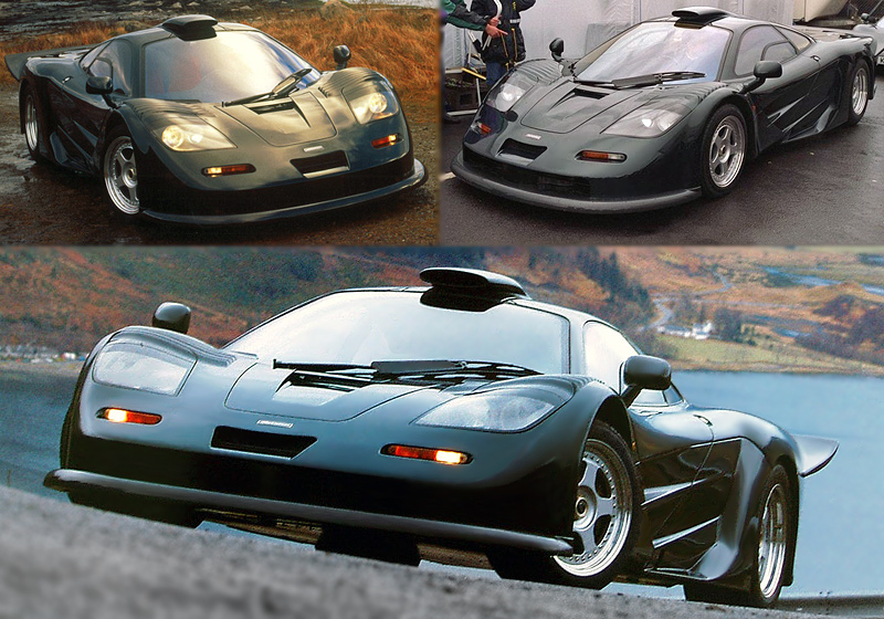 1997 Mclaren F1 Gt Longtail Specifications Photo Price