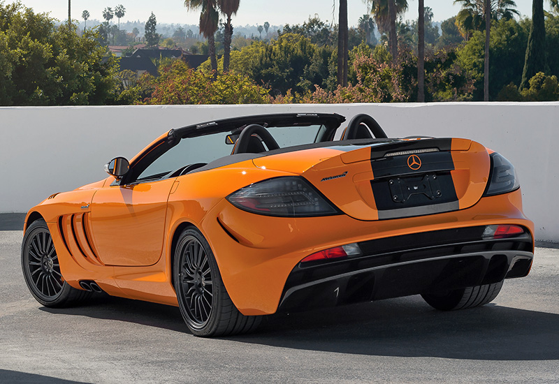 2010 Mercedes Benz Slr Mclaren Roadster Mso Edition 722s Specifications Photo Price
