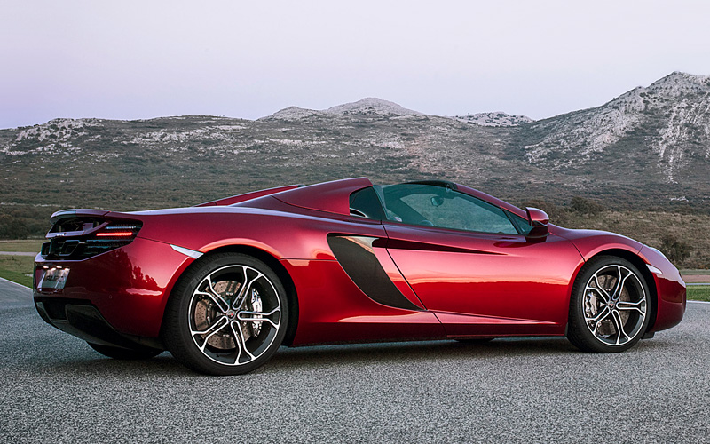 100 Kph To Mph >> 2013 McLaren 12C Spider - specifications, photo, price, information, rating