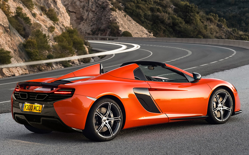 2014 mclaren 650s spider specifications photo price. Black Bedroom Furniture Sets. Home Design Ideas