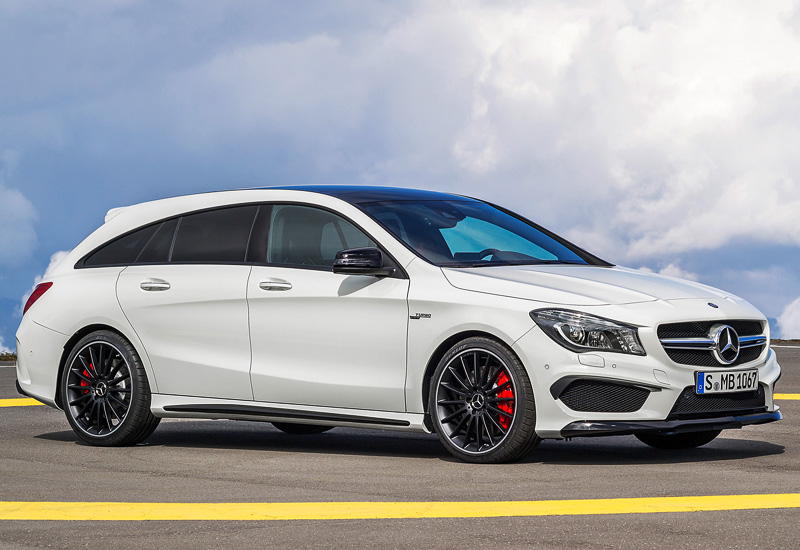 2015 mercedes amg cla 45 shooting brake specifications photo price information rating. Black Bedroom Furniture Sets. Home Design Ideas