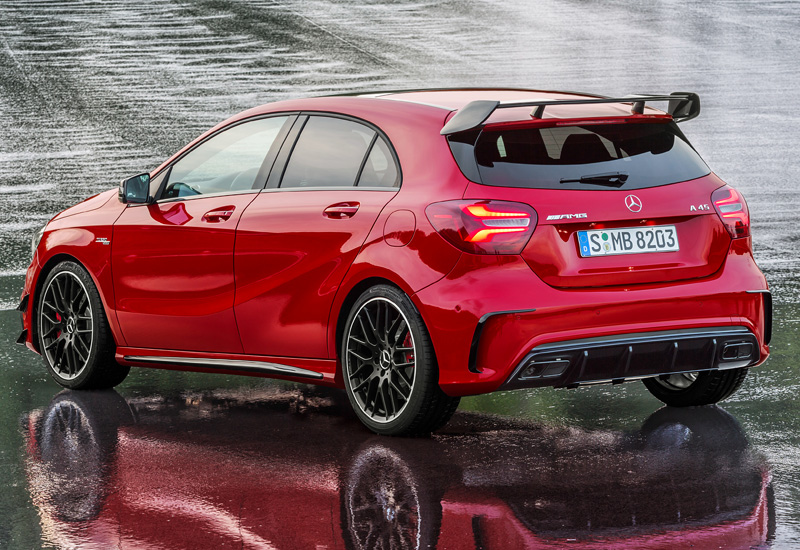 2016 mercedes amg a 45 4matic specifications photo. Black Bedroom Furniture Sets. Home Design Ideas