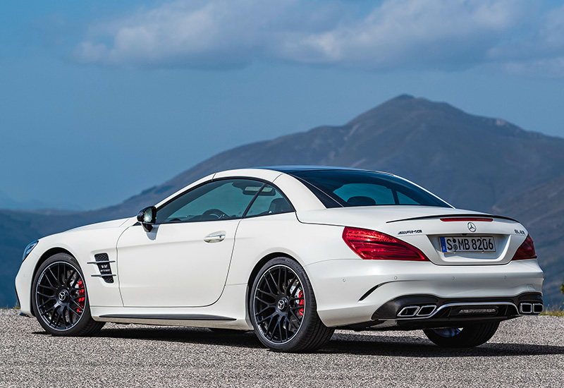 2016 mercedes amg sl 63 specifications photo price. Black Bedroom Furniture Sets. Home Design Ideas