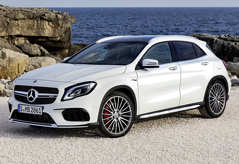 2017 mercedes amg gla 45 4matic x156 specifications photo price information rating. Black Bedroom Furniture Sets. Home Design Ideas