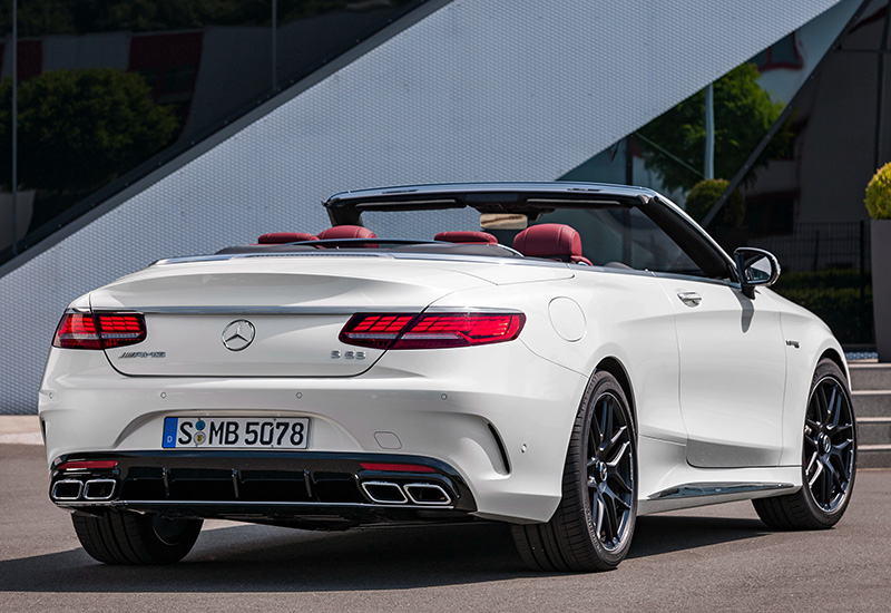 Mercedes S63 Amg Coupe >> 2018 Mercedes-AMG S 63 Cabriolet 4Matic+ (A217 ...
