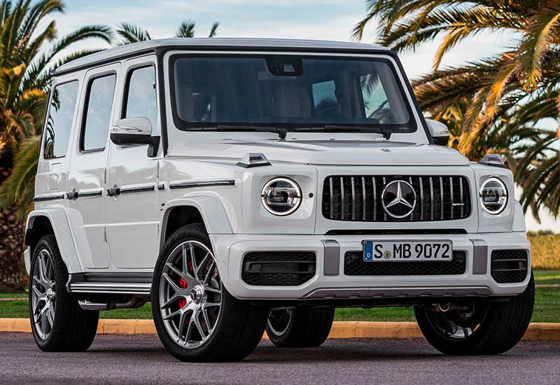 2019 Mercedes Benz G63 >> 2019 Mercedes-AMG G 63 - specifications, photo, price, information, rating