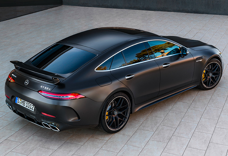 2019 Mercedes Amg Gt 63 S 4 Door Coupe 4matic