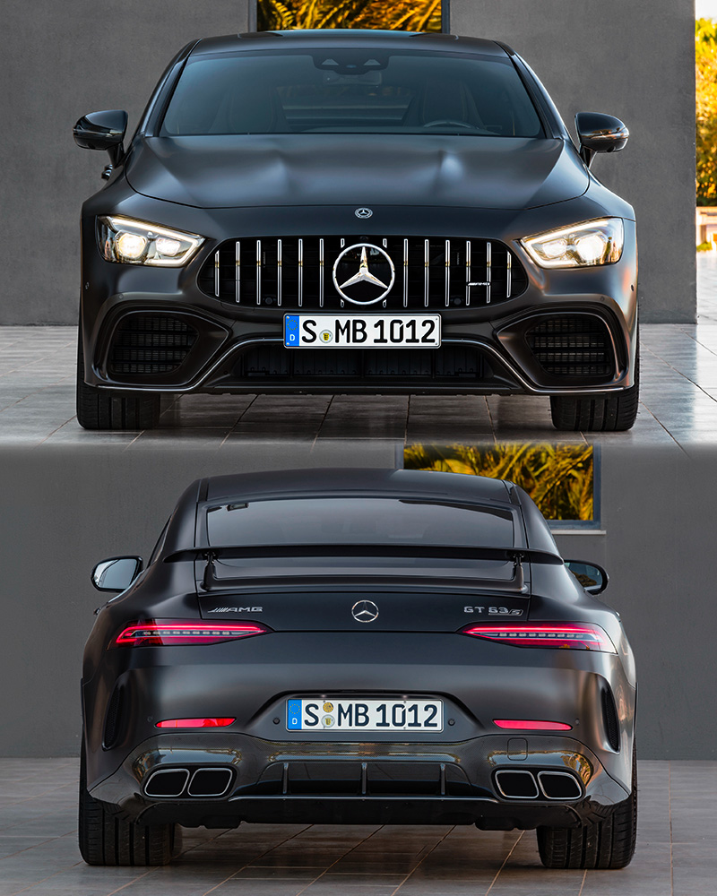 2019 Mercedes-AMG GT 63 S 4-Door Coupe 4Matic
