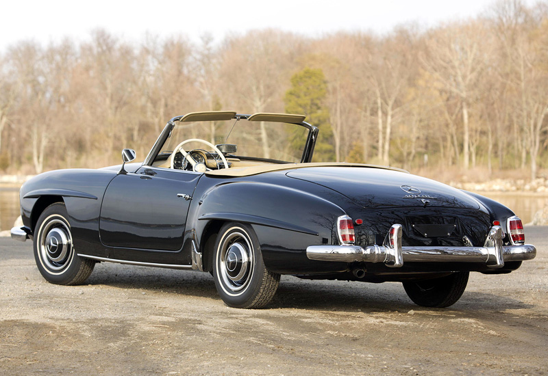 1955 Mercedes Benz 190 Sl W121 B2 Specifications