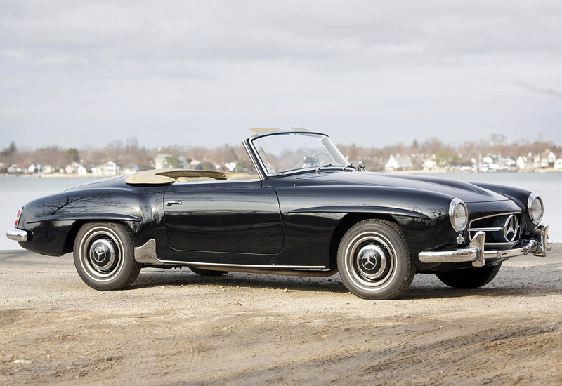 1955 Mercedes-Benz 190 SL (W121 B2) - specifications ...