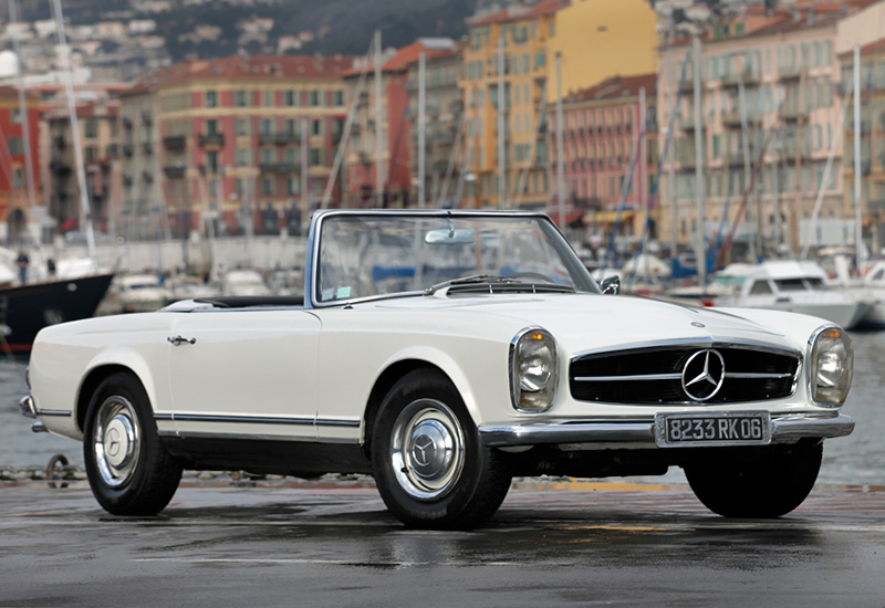 1963 mercedes benz 230 sl pagoda w113 specifications for Mercedes benz 280sl pagoda