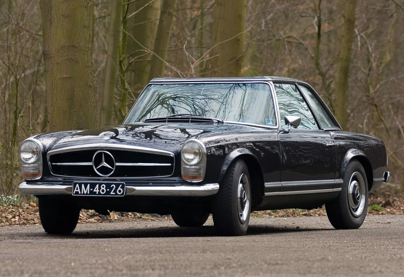 1966 mercedes benz 250sl 2 2 california coupe w113
