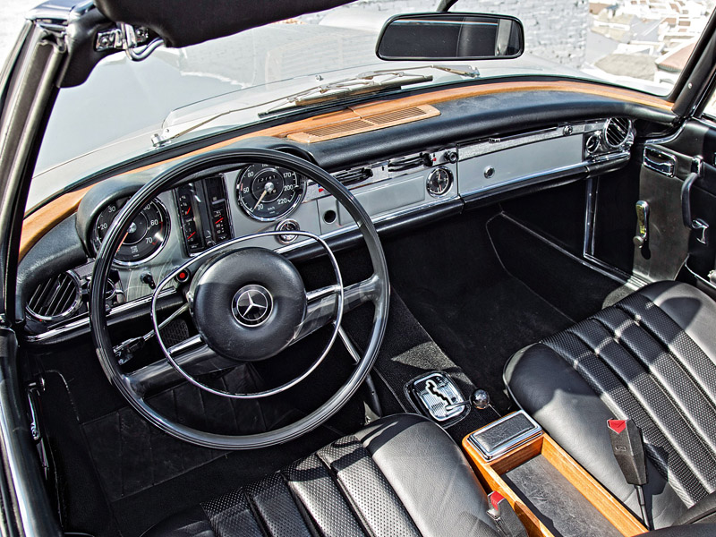 280 Kph To Mph >> 1967 Mercedes-Benz 280 SL (W113) - specifications, photo, price, information, rating
