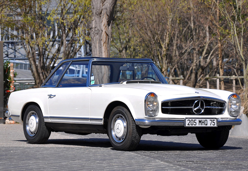 1967 Mercedes-Benz 280 SL (W113) - specifications, photo, price, information, rating