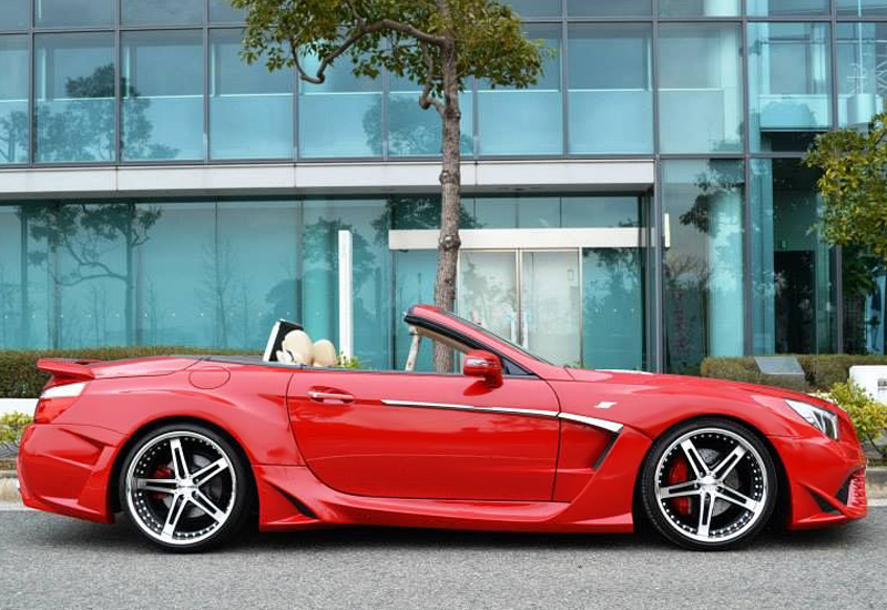 Mercedes Sl 2019 >> 2014 Mercedes-Benz SL 500 SQUALO VITT Performance - specifications, photo, price, information ...
