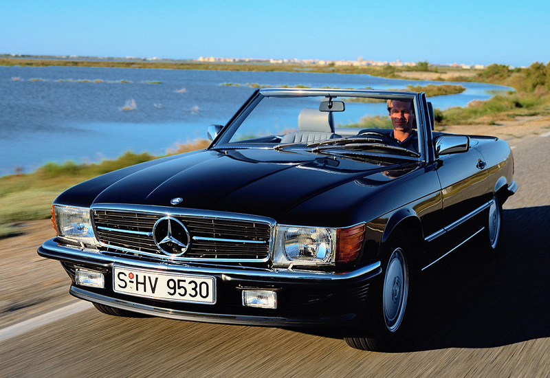 1980 Mercedes Benz 500 SL R107 specifications photo price
