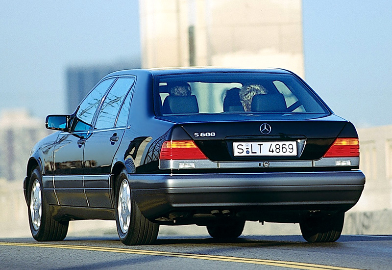 1991 Mercedes Benz 600 Sel W140 Specifications Photo