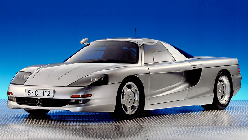1991 Mercedes Benz C112 Concept Specifications Photo