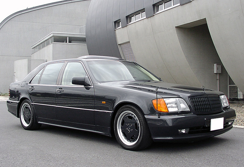 1995 mercedes benz s600l 7 3 amg specifications photo for Mercedes benz s600l