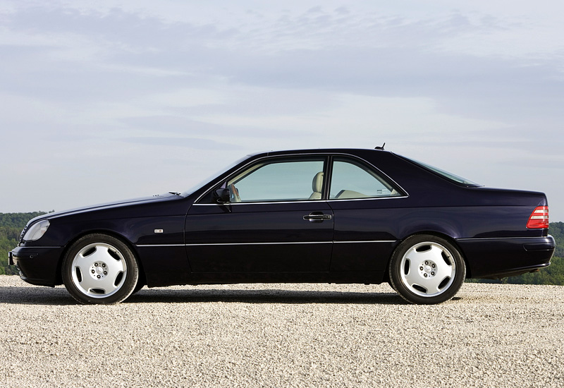 1996 mercedes benz cl 600 c140 specifications photo for Mercedes benz c 600