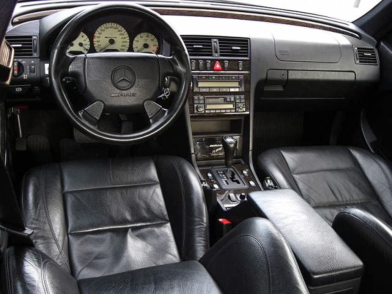 1997 Mercedes-Benz C 43 AMG (W202) - specifications, photo