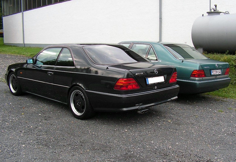 1998 Mercedes-Benz CL 7.3 AMG - specifications, photo ...