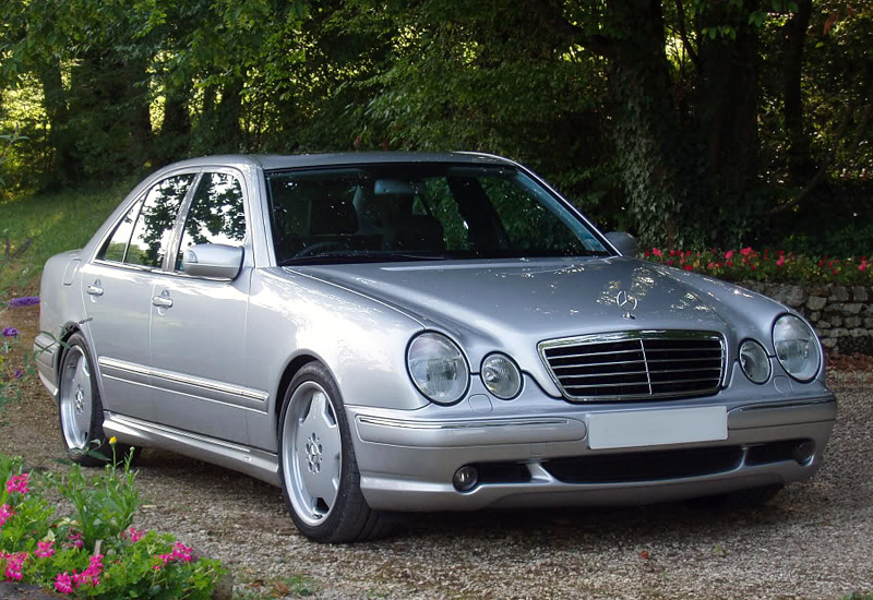1999 Mercedes Benz E 55 Amg 4matic W210 Specifications