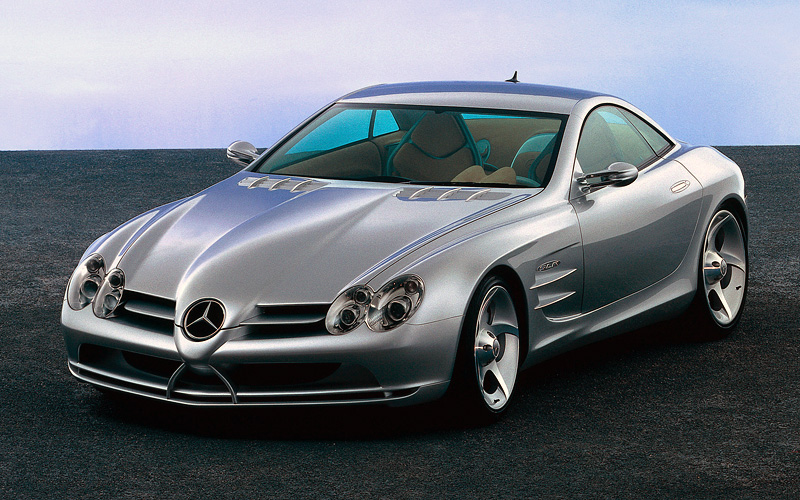 1999 mercedes benz vision slr concept specifications