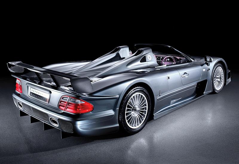 2002 Mercedes-Benz CLK GTR AMG Roadster - specifications ...
