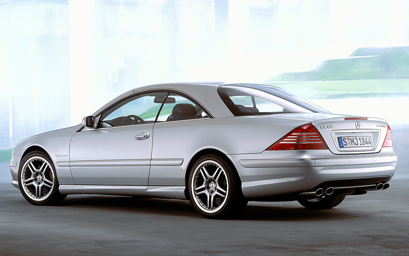 2004 mercedes benz cl 65 amg c215 specifications