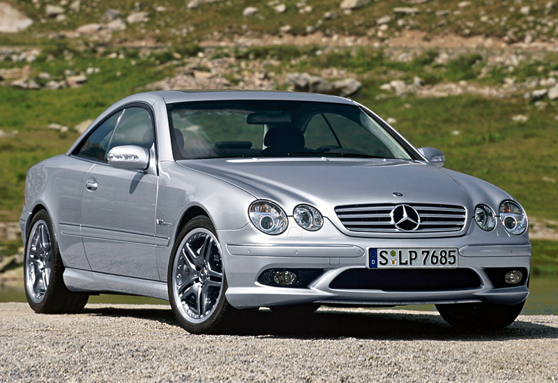 2003 mercedes benz cl 65 amg c215 specifications for Mercedes benz amg 65 price