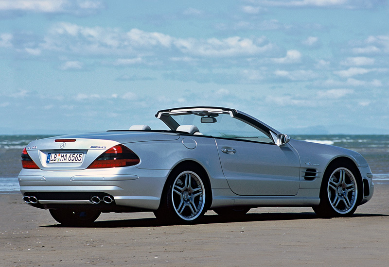2004 Mercedes-Benz SL 65 AMG (R230) - specifications ...
