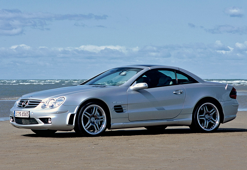 2004 Mercedes Benz Sl 65 Amg R230 Specifications