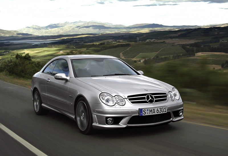 2006 mercedes benz clk 63 amg c209 specifications