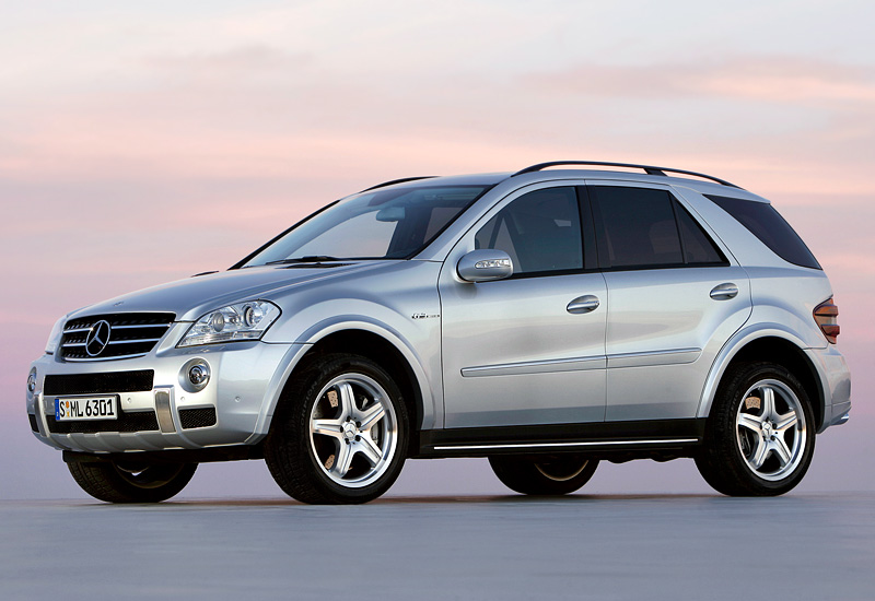 2006 Mercedes Benz Ml 63 Amg W164 Specifications