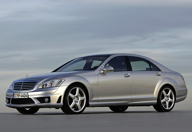 200 Kph To Mph >> 2007 Mercedes-Benz S 65 AMG (W221) - specifications, photo, price, information, rating
