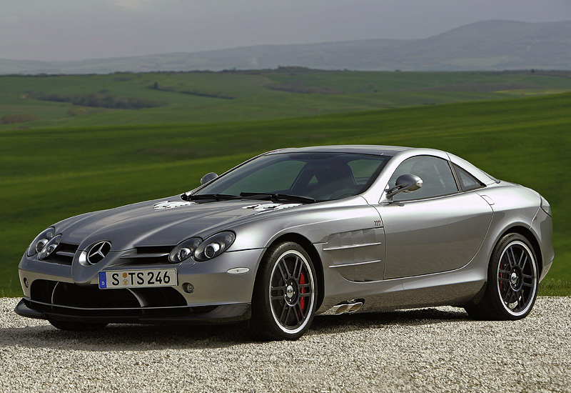 2006 Mercedes Benz Slr Mclaren 722 Edition